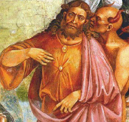 Detail from The Deeds of the Antichrist by Luca Signorelli
